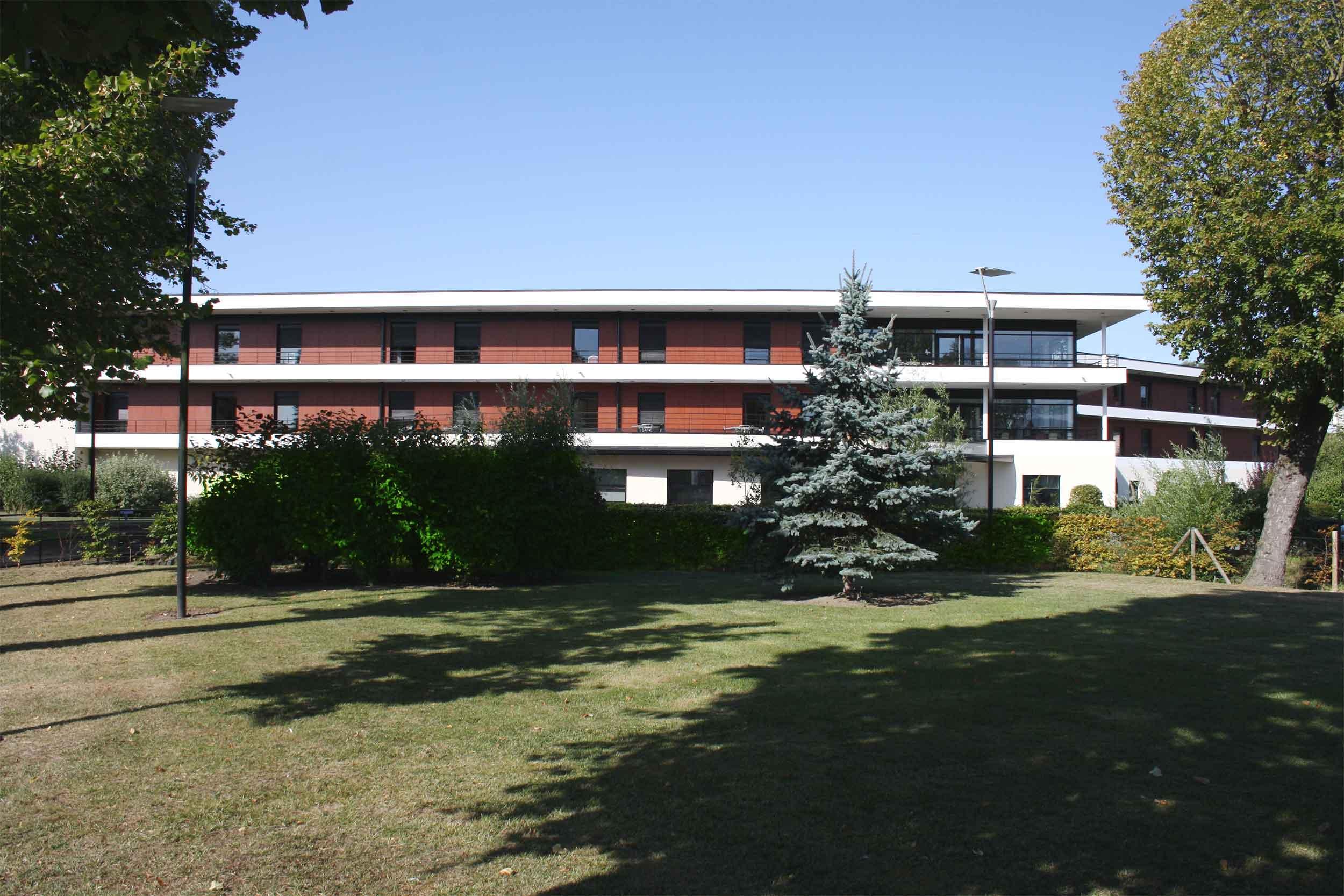 Les airelles Maison de retraite Cambrai - accueil
